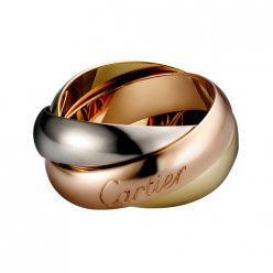 Trinity de copia Cartier Anello B4052800