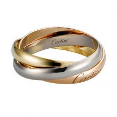 Trinity de Ring Cartier Replik B4086100