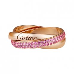 Replik Trinity de Cartier rosa Gold Ring B4093100
