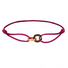 Replik cartier love Armband rosa Gold Diamant