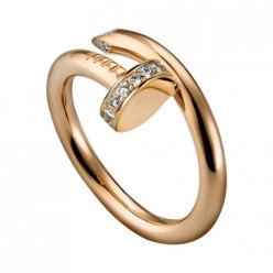cartier juste un clou ring rosa gold diamond kopie B4094800