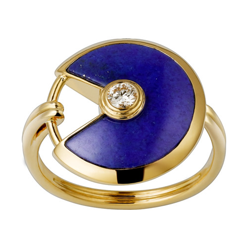 amulette de cartier ring gelb gold replik B4213700