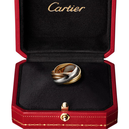 Replik trinity de Cartier Ring Set 1 Diamant B4088300