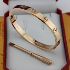 copie bracelet cartier love or rose avec tournevis