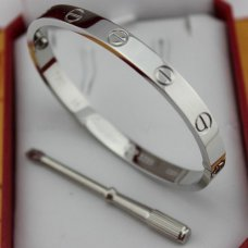 faux bracelet cartier love or blanc avec tournevis