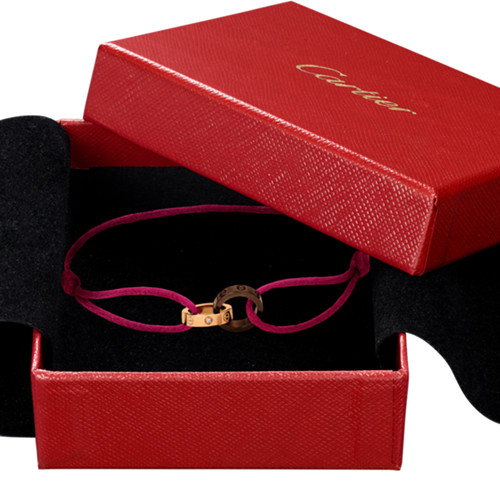 réplique bracelet cartier love diamant or rose