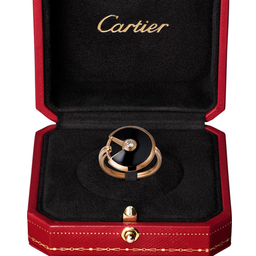 réplique amulette de cartier bague or rose B4214800
