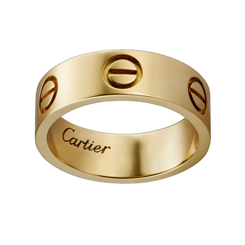 réplique de vente de cartier love bague or