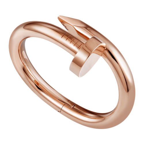 copie cartier juste un clou bracelet 18k or rose