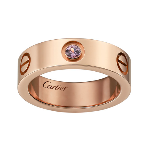 réplique cartier love bague rose vente rose or