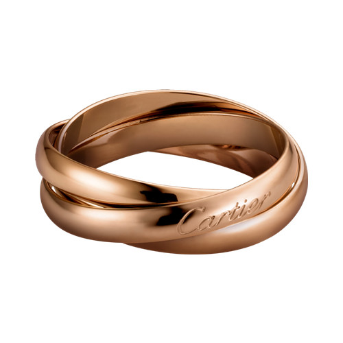 Trinity de Cartier bague en or rose réplique B4218800